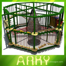2014 hot large children outdoor fitness rope master game equipment