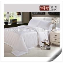 Fábrica de algodão branco diretamente à venda Hotel Linen fornecedores