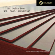 17mm Top Grade Film Faced Plywood