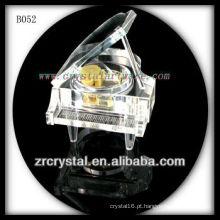 K9 Piano de cristal musical claro