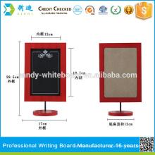 Red Frame Kaffee Bar Kreide Bord Message Board