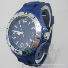 Nuevo reloj de moda plástico del movimiento del Japón de la protección del medio ambiente Sj073-4