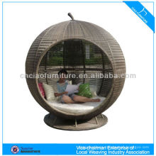 H- S-3035 top quality outdoor rattan leisure bed