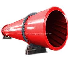 Equipamento de secagem de tambor rotativo de alta eficiência