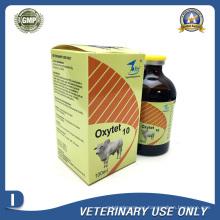 Medicamentos Veterinarios de 10% de Inyección de Oxitetraciclina (50ml / 100ml)