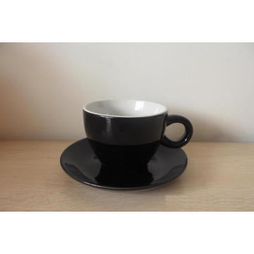 China Factory Direct Supply Ceramic Coffee Cup and Saucer Set