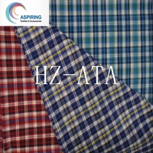 Yarn Dyed Polyester Cotton Fabrics for Man T-Shirt