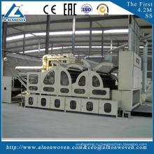 Высокое качество ALSL-1550 роликовый кардочесальный станок poleyester carding machine