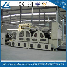 High quality ALSL-1550 roller carding machine poleyester carding machine