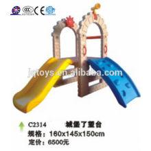 JQC2314 Plastik Kinder Spielplatz / Kinder kombiniert Dia / Vergnügungspark