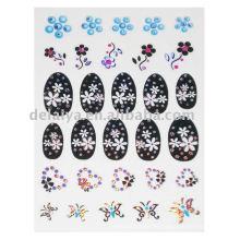 Pegatinas de uñas láser