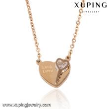 collier-00050 bijoux en plaqué or rose en gros conceptions de collier en or indien élégant
