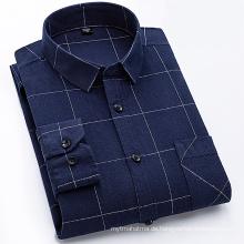Flanellhemd aus 100% Baumwolle