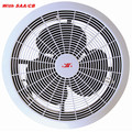 Ventilador de ventilação de plástico com aprovação SAA / CB / motor de cobre 100%