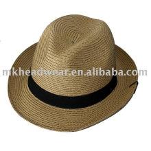 Sombreros de paja de papel de moda para adultos