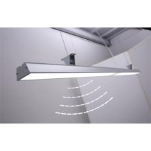 Up & Down LED Suspensão Linear Luz Comercial