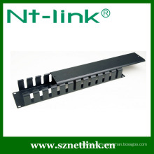 2U Metall PVC Kabelmanagement