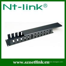 2U Metal PVC Cable Management