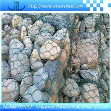 Resistente Al Alcalino Gabion Alambre Proteger La Carretera