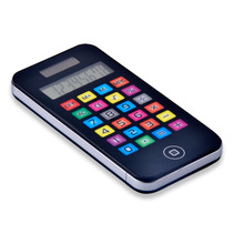 Dual Power Touch Screen Cellphone Design Calculator