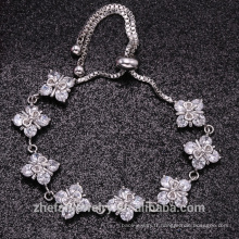 Le plus nouveau mariage bracelet engagement 925 bijoux en argent sterling avec de haute qualité