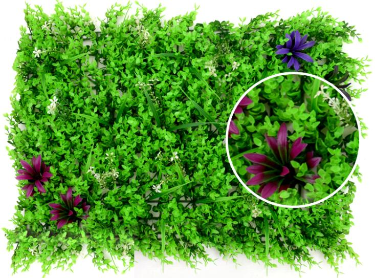 Home and Garden Decoration Plastic Artificial Plant Wall