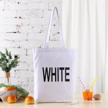White pink black large cotton canvas bags