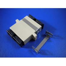 SC/PC Mm Duplex Fiber Optic Adapter