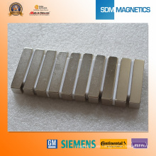 Imanes del sensor de neodimio de N45h 7.62X3.18X3.18mm para Sw