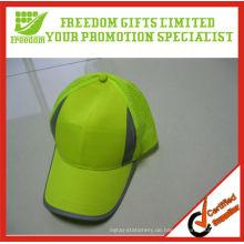 Kundengebundener gelber Straßen-reflektierender Hut