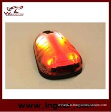 Sécurité imperméable Tactical Light survivre projecteur lumière rouge