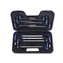 10PC T-Handle punto de bola y Hex Wrench Set
