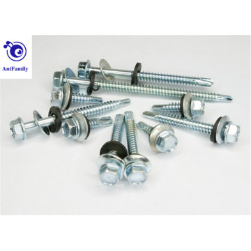 Hex head with washer self drilling screw for sale