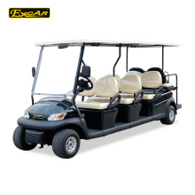 Customize 8-Sitzer elektrische Golfwagen Trojan Batterie Club Auto Golfwagen Buggy