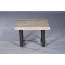 Mesa lateral de madeira moderna amplamente usada