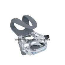 Aluminum Body and One-Piece PP Cage Bicycle Pedal (HPD-020)