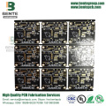 4-layers Multilayer PCB FR4 Tg135 ENIG 3U