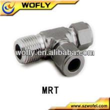 Tubo de acero inoxidable de alta calidad para racores de tubo macho