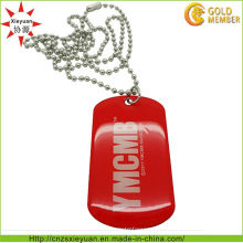 Werbegeschenk Custom Neck Metal Dog Tag