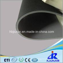 3mm Fabric Impressed Industrial SBR Rubber Flooring Mat