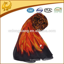 Hot Sale Available Sample Business Chifffon Printed Shawl