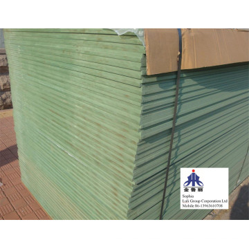 Green Color Particle Board