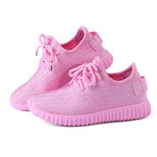 Zapatos ocasionales de los niños plegables del color rosado