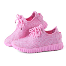 Pink Color Foldable Children Casual Shoes