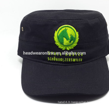 Bonnet de sport en alibaba en gros / chapeaux militaires / chapeau militaire de l'armée militaire 100%