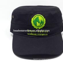 Atacado alibaba esporte cap / militar tampas / militares 100% algodão chapéu do exército