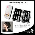 mode cosmétique pédicure ongles outil kit manucure kit pour salon de beauté