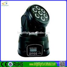 Führte Mini-Party Licht 10W vier in einem führte Mini beweglichen Köpfe Himmel Suchscheinwerfer