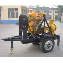 2 Wheels Trailer Water Pumps for Industrial Use