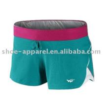 Nova promoção à prova d'água shorts de treinamento das mulheres 2013